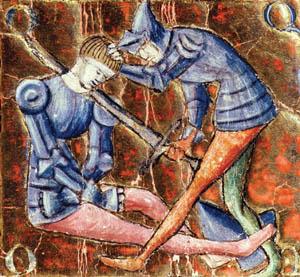As El Cid, defender of the Christian faith, mercenary warlord Rodrigo Diaz de Vivar became the first Spanish national hero.