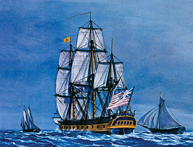 Beginning with hi victory at Delaware Bay, Irish-born John Barry was in the forefront of naval action during the Revolutionary War.