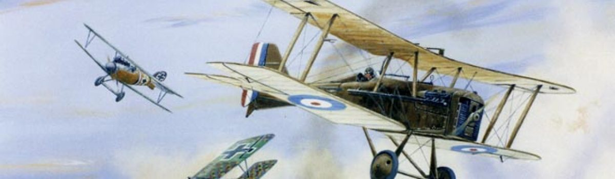 Famous Fighter Aces: Edward Mannock