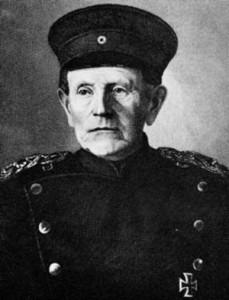Field Marshal Helmuth von Moltke, chief of the Prussian general staff.