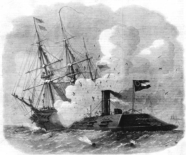 The Massachusetts-born naval officer was in the thick of several celebrated naval battles for the North during the Civil War.