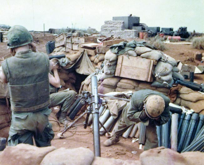Lownds ordered heavy mortars, recoilless rifles, and howitzers sent to the Marine outposts on the hills north of Khe Sanh to give them the firepower required to break up enemy infantry attacks.