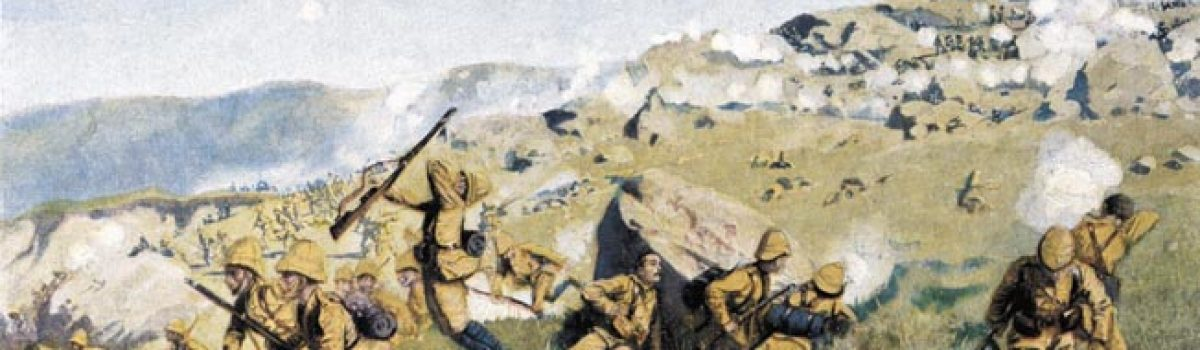Winston Churchill's Escape During The Battle of Spion Kop