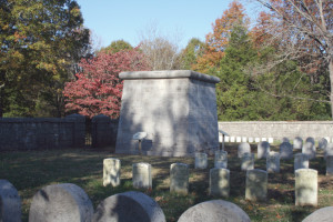 The limestone monument erected by members of Colonel William B. Hazen's brigade is the nation's oldest intact Civil War monument.