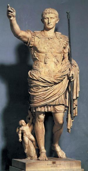 Emperor Augustus.