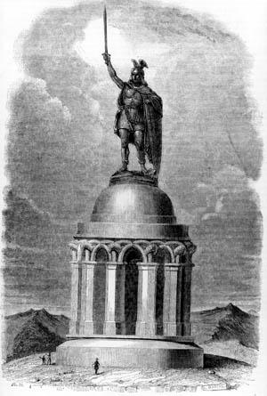 The Hermann Memorial was more propaganda than history lesson.