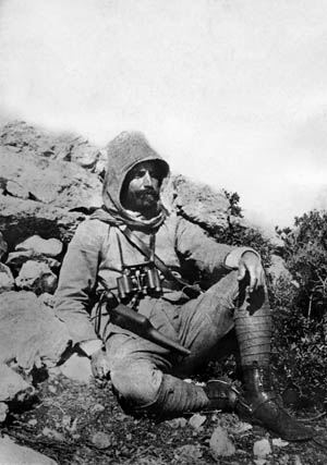 Turkish commander Enver Bey led a major counterattack against Italian forces at Benghazi and Derna in the first months of 1912, but initial successes were short lived.