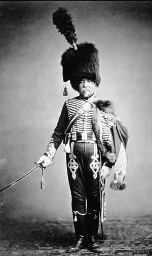 M. Fabry of the 1st Hussar Regiment
