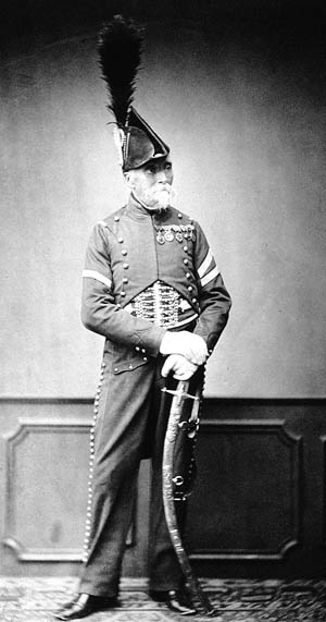 M. Dupont of the 1st Hussar Regiment