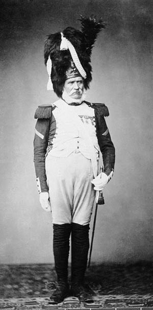 M.Burg of the 24th Regiment of the Guard