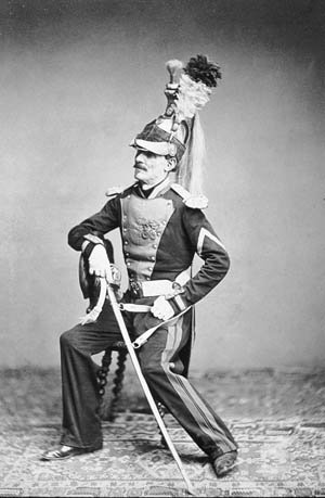 M. Mauban of the 8th Dragoon Regiment