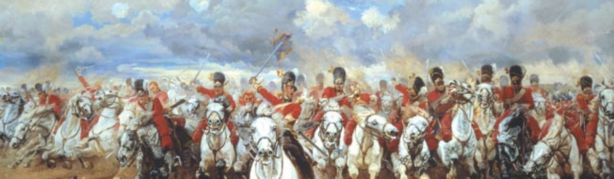 Scottish Highlanders at Waterloo