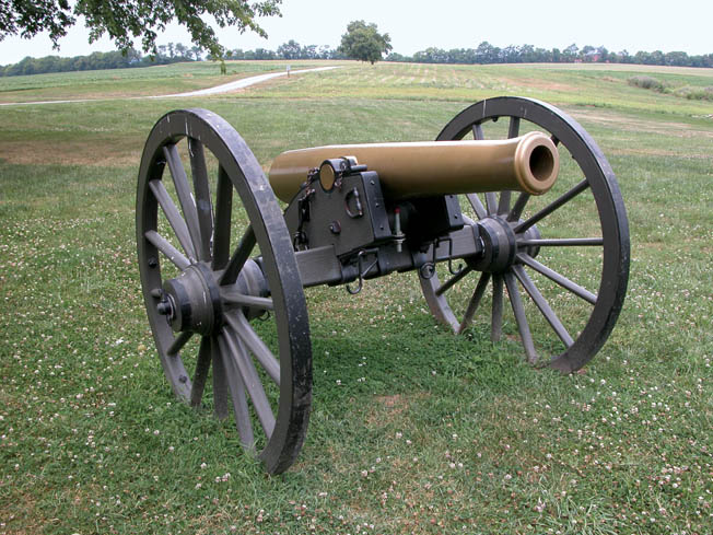 This gun-howitzer became a mainstay of the Union artillery during the Civil War, proving its worth at Gettysburg.