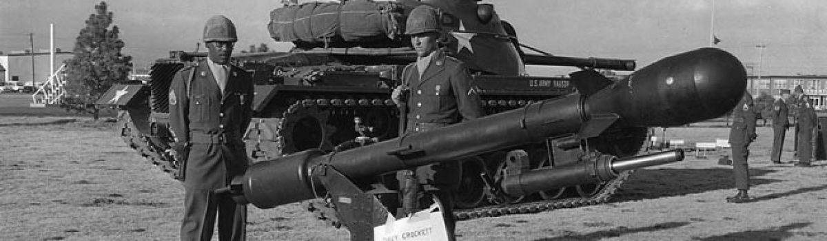 Military Weapons: The Davy Crockett Mobile Missile Launcher