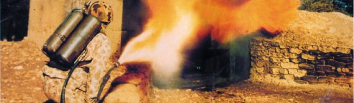 Military Weapons: The Origin of the Combat Flamethrower