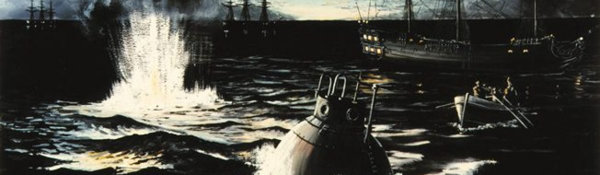 David Bushnell's Turtle: The World's First Submarine