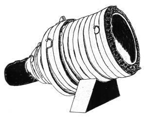 The Pumhardt 35-inch-bore bombard.