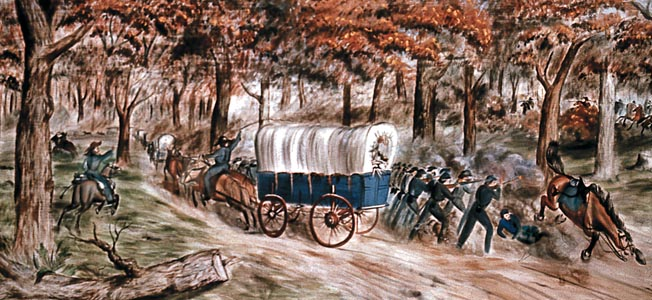 General Wheeler used his cavalry effectively against the Union army in the western theater.