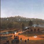 Assault on Burnside's Bridge at the Battle of Antietam