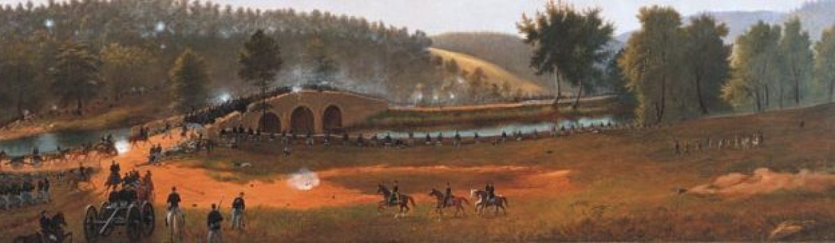 Assault on Burnside's Bridge at the Battle of Antietam