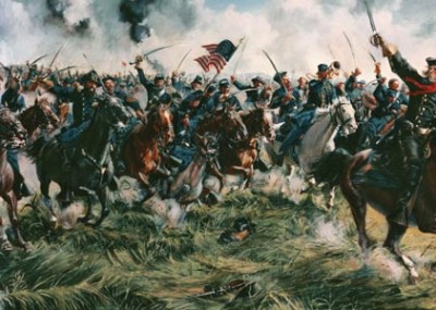 """""""Keep to your Sabers, Men"""": J.E.B. Stuart's Charge at Gettysburg"""