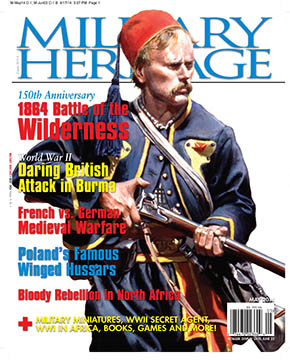 The May 2014 Issue of Military Heritage Magazine
