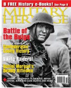 Military Heritage November 2014