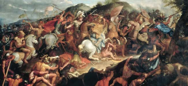 A vast Persian host stood aside Alexander the Great's supply line. Anything short of complete victory for the Macedonians meant certain annihilation.