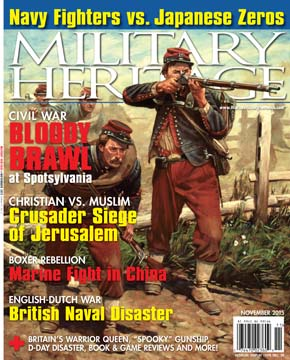 The November 2015 issue of Military Heritage