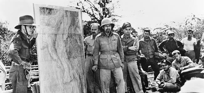Brigadier Bernard Fergusson took part in several hazardous operations in the China-Burma-India- Theater.