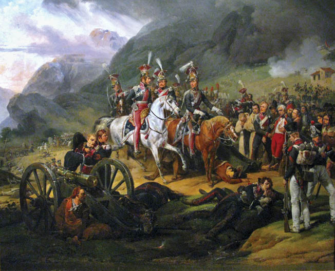 Finding the Somosierra pass blocked by Spanish batteries, Napoleon ordered his Polish light horse to punch through the resistance.