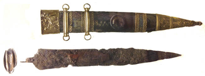 The Mainz gladius of the 1st century AD is representative of the swords of the early Imperial period.