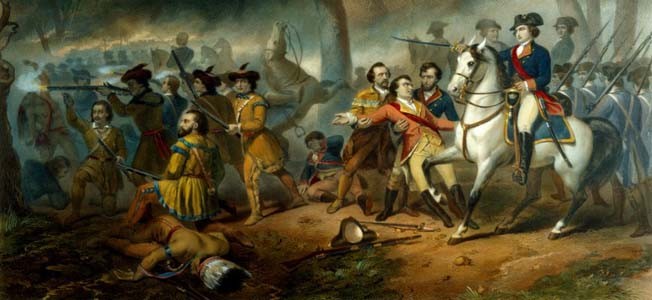 Major General Braddock's bloody battle at Fort Duquesne had more than its share of ironies and consequences.