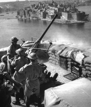 To end the threat of the French fleet being used by the Germans against convoys for Malta, the British navy sent some of its warships to Oran and Mers-el-Kebir in Vichy-French occupied Algeria to negotiate the future of French naval forces.