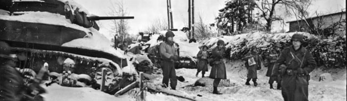 Melee for the Manhay-Grandmenil Sector in the Bulge