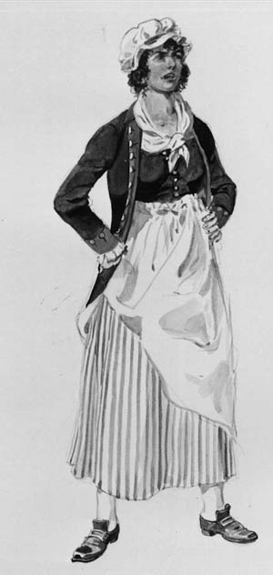 Margaret Corbin quickly took over loading and firing her husband's cannon after he was shot and killed at Fort Washington.