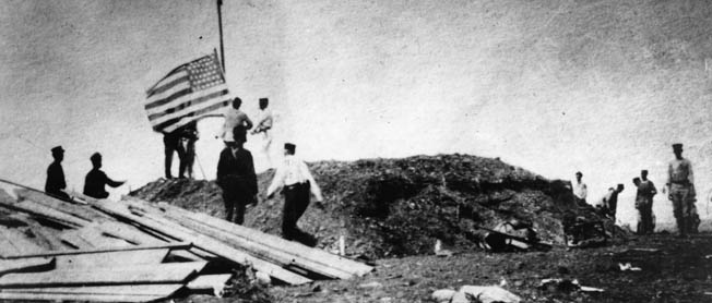 The 1898 sinking of the USS Maine draws Marines in to fight for the strategically important Battle of Guantanamo Bay.