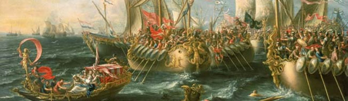 Mark Antony's Roman Navy: Clash at Actium & the Ionian Sea