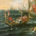 Mark Antony's Roman Navy: Clash at Actium & the Ionian Sea