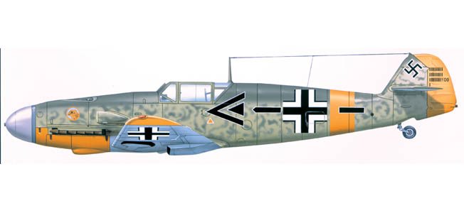 When Germany invaded the Soviet Union during Operation Barbarossa, the Luftwaffe led the way with approximately 440 Me-109 types.