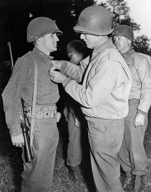 A Veteran of D-Day, the Huertgen Forest, and the Bulge, Medal of Honor recipient Fighting George Mabry was a tough little hero of WWII.