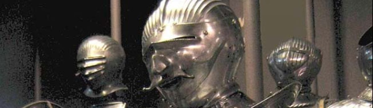 Medieval Knight Armor: The Iron Plate Suit of Arms