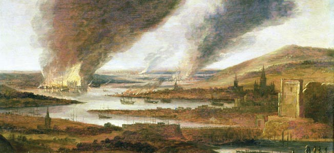 For the long-suffering citizens of London, the sight of a Dutch fleet sailing up the Medway River was the last in a string of disasters.