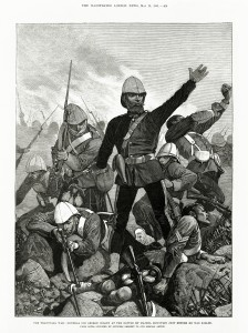 Melton_Prior_-_Illustrated_London_News_-_The_Transvaal_War_-_General_Sir_George_Colley_at_the_Battle_of_Majuba_Mountain_Just_Before_He_Was_Killed