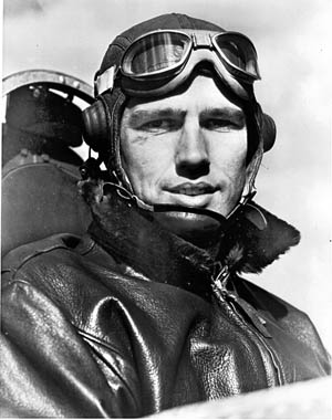 Captain Marion E. Carl, the USMC's first ace.