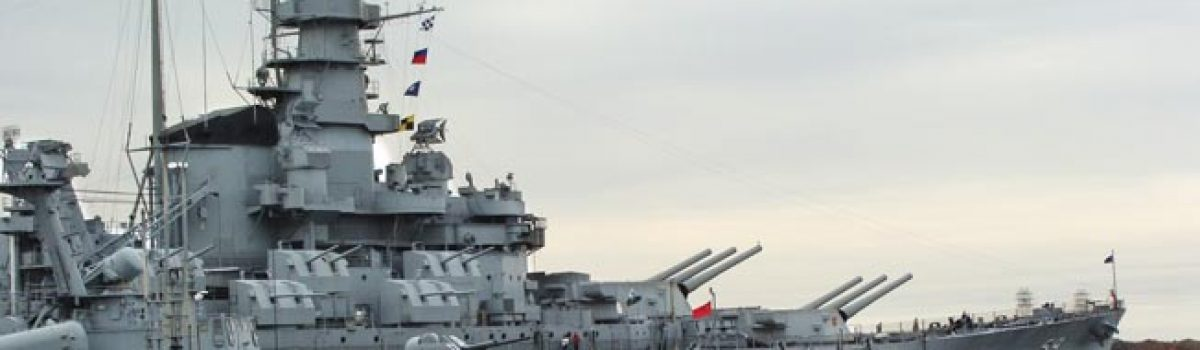 Battleship Cove and the USS Massachusetts