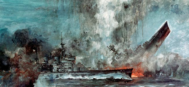 Analysis raises questions concerning the long-held beliefs surrounding the sinking of the Nazi super-battleship.