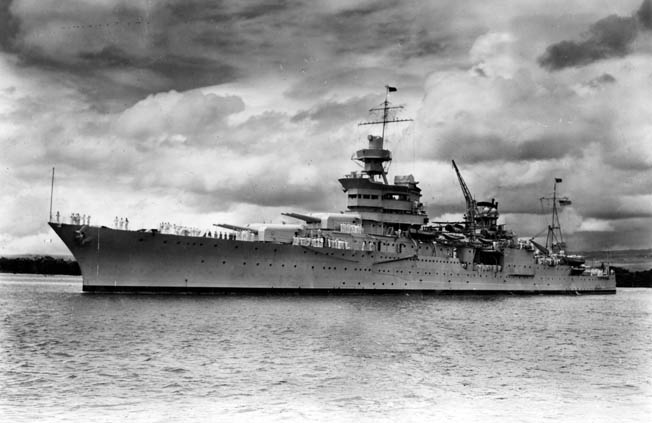 When the cruiser USS Indianapolis was sunk in 1945, the warship was one of the best known in the U.S. Navy and a favorite of President Franklin D. Roosevelt, who visited on several occasions and used the cruiser for some diplomatic travel.