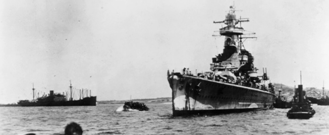 The Graf Spee sought temporary shelter in the harbor of Montevideo, Uruguay.