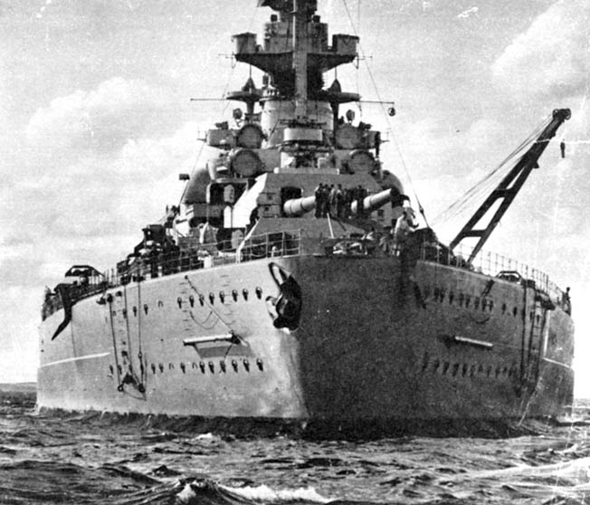 The German battleship Bismarck has long been regarded as the most powerful capital ship ever to go to sea. However, closer examination reveals that such may not be the case.